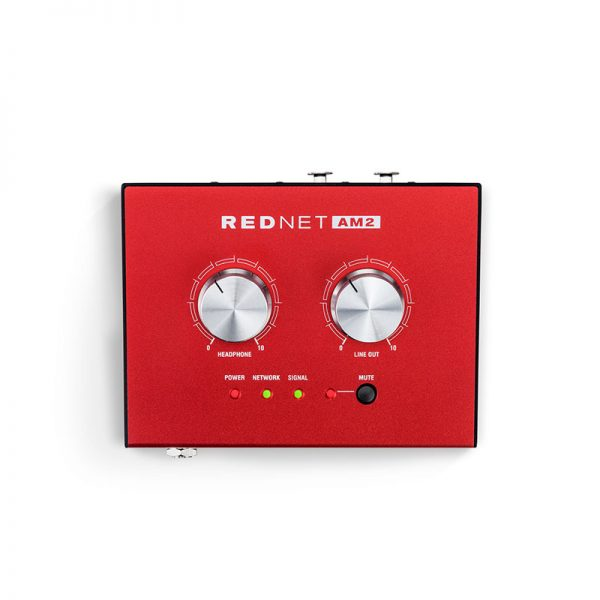 monitoring sygnału audio ethernet