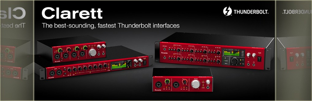 interfejs audio thunderbolt